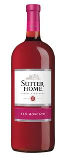 Sutter Home Red Moscato 187ml - Case of 24